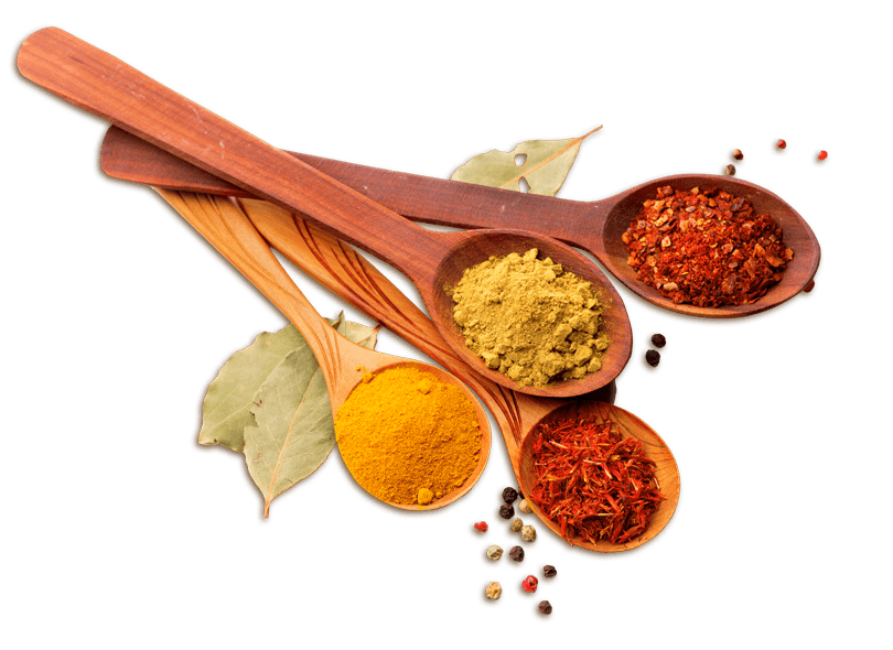 spoons-spices
