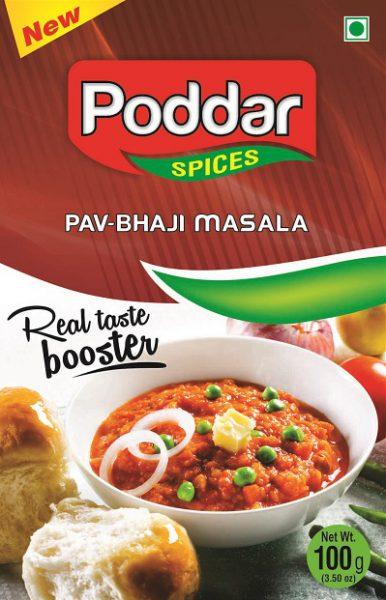 poddar  100G Pav bhaji